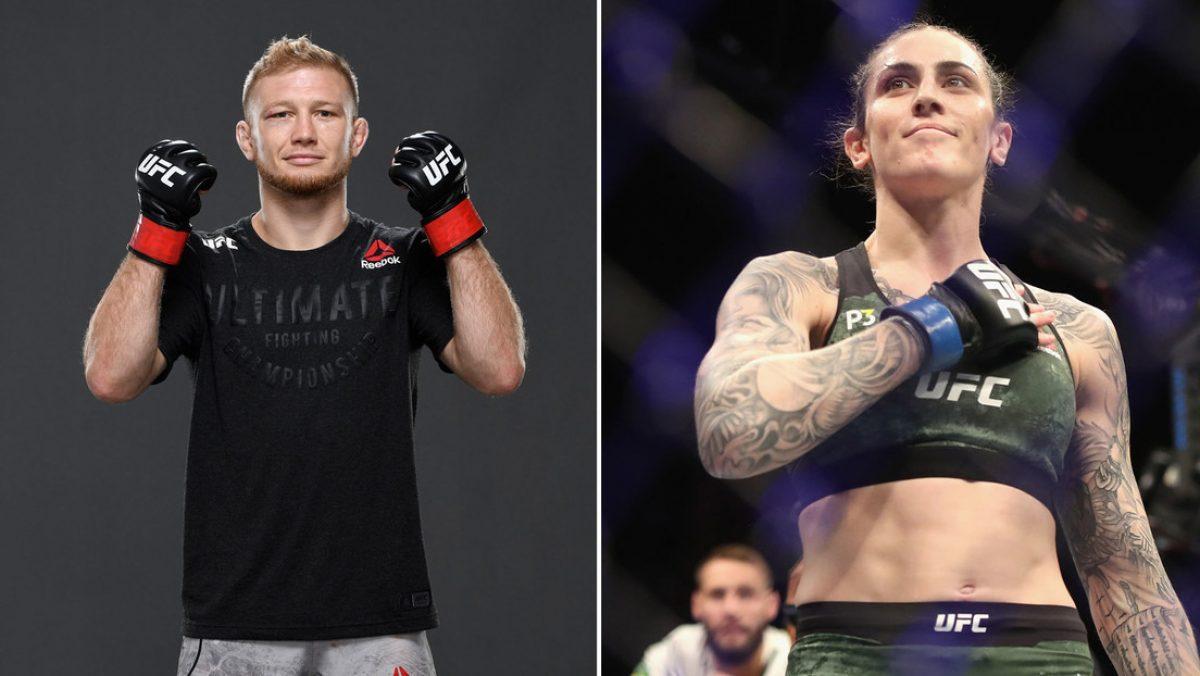 Un luchador de la UFC hace comentarios sexuales sobre una peleadora y ella da una respuesta inesperada