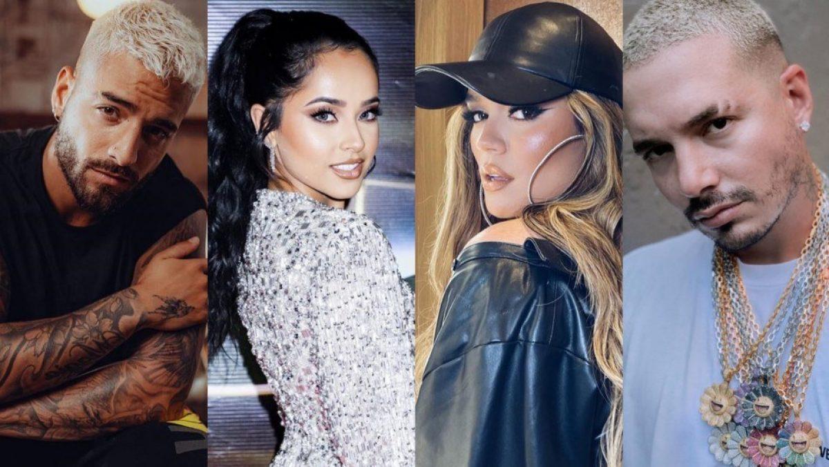 Maluma, Karol G, Becky G y J Balvin: Conoce el verdadero nombre de estos artistas