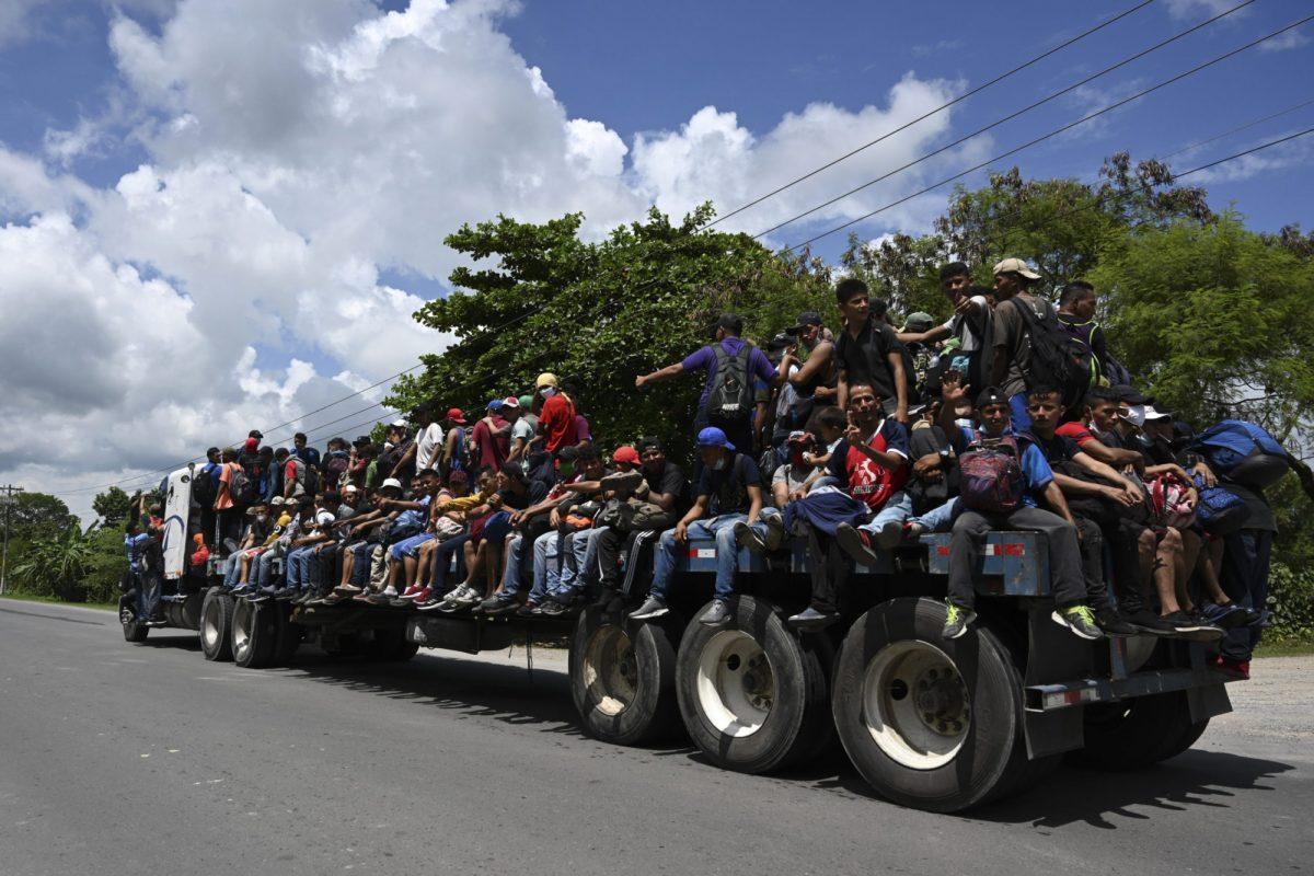 Más de 300.000 migrantes hondureños fueron repatriados en cinco años