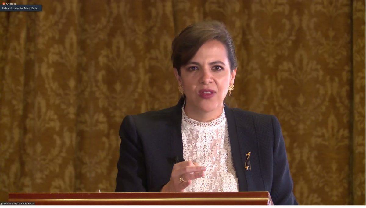 EN VIVO | Conoce la resolución contra la ministra de Gobierno, María Paula Romo