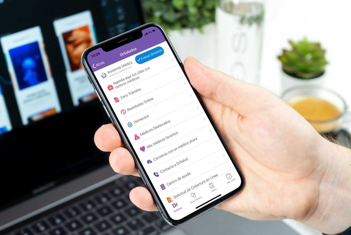Saludsa y Mediktor ahora tienen un Asistente Virtual para avaluar síntomas de usuarios y determinar el tipo de atención