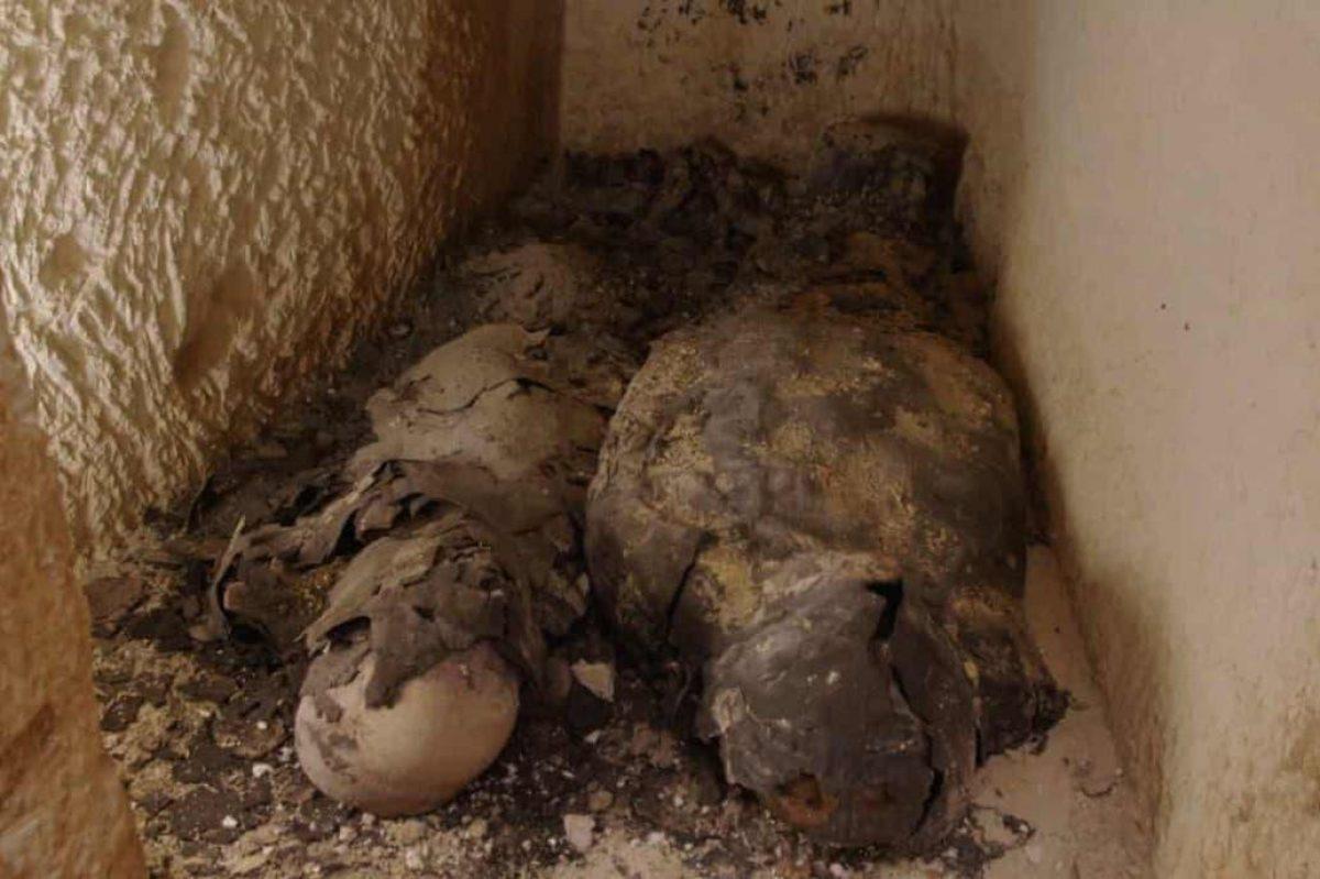 Egipto: encuentran dos momias cubiertas en oro que dan pistas para hallar la tumba de Cleopatra