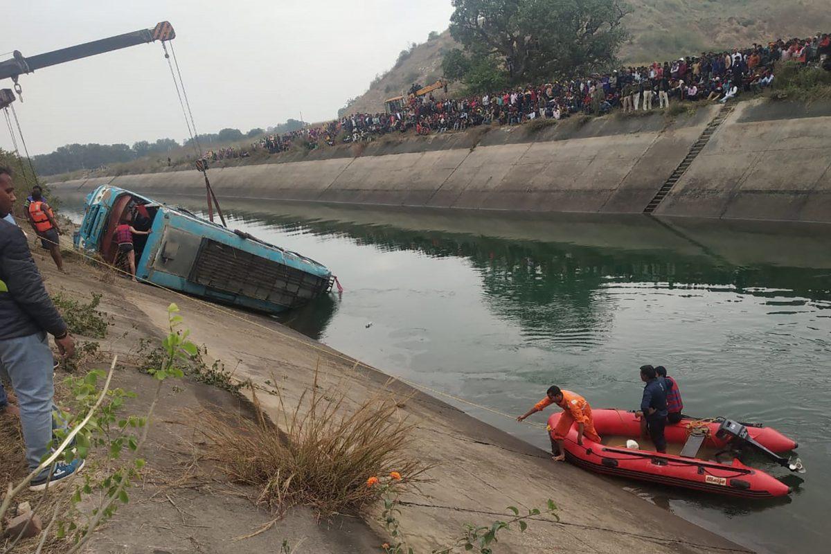 Al menos 39 muertos en un accidente de autobús en el centro de India