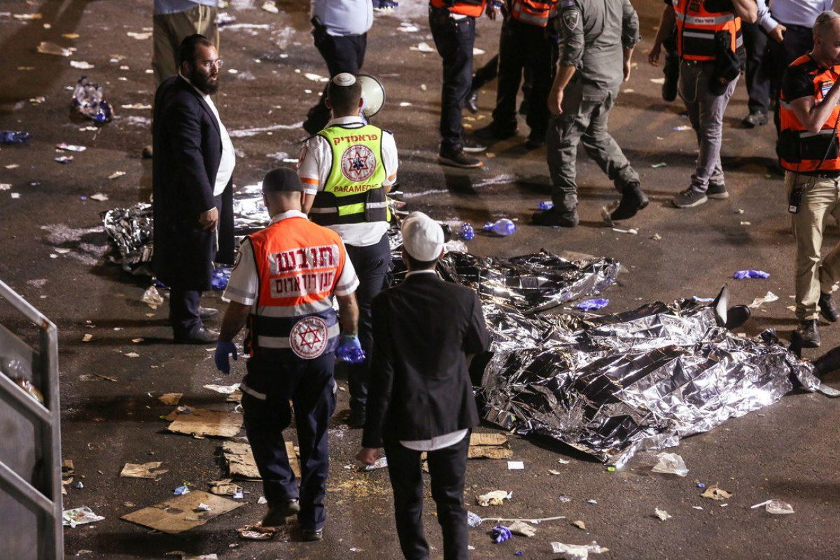 """""""Un terrible desastre"""": Decenas de muertos y heridos tras una estampida en una celebración religiosa en Israel"""