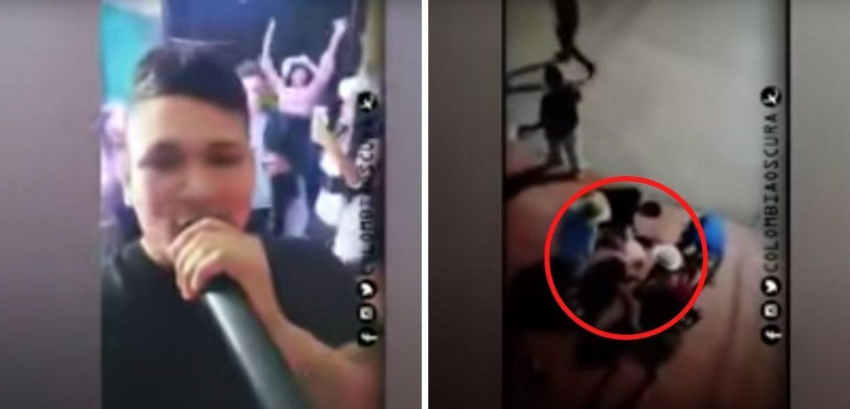 Se cayó de un segundo piso mientras bailaba en una fiesta