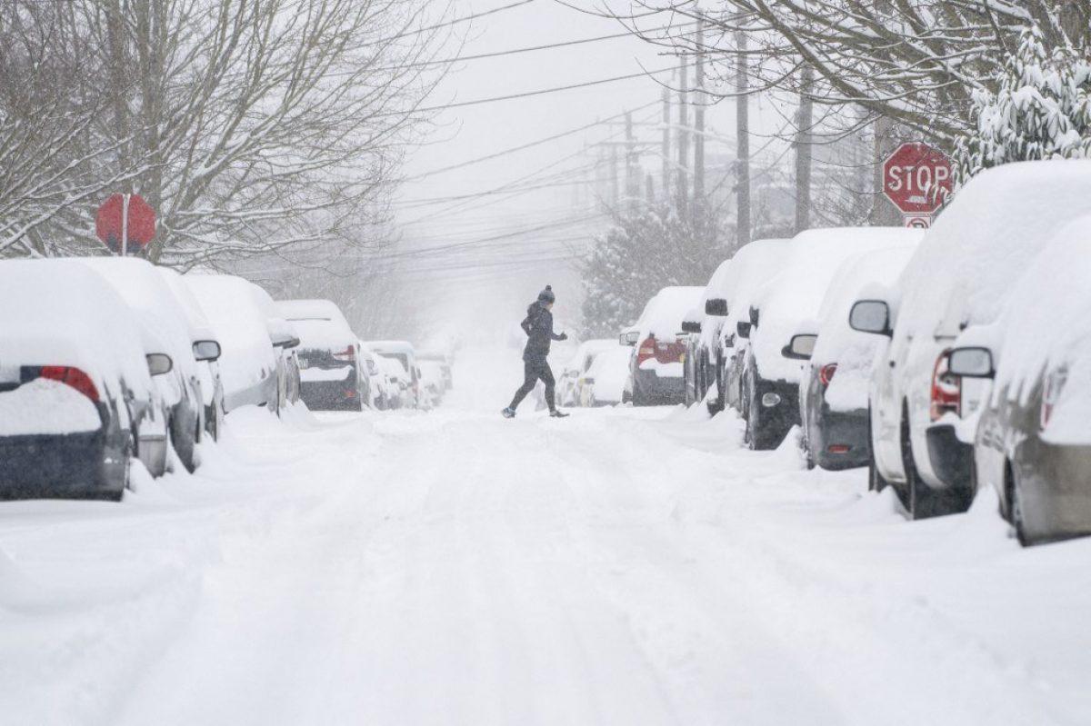 Una ola de frío polar congela Estados Unidos