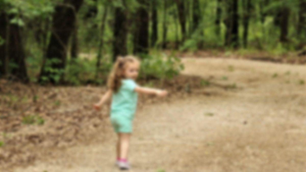 Niña de casi dos años sobrevive cuatro días perdida en un bosque