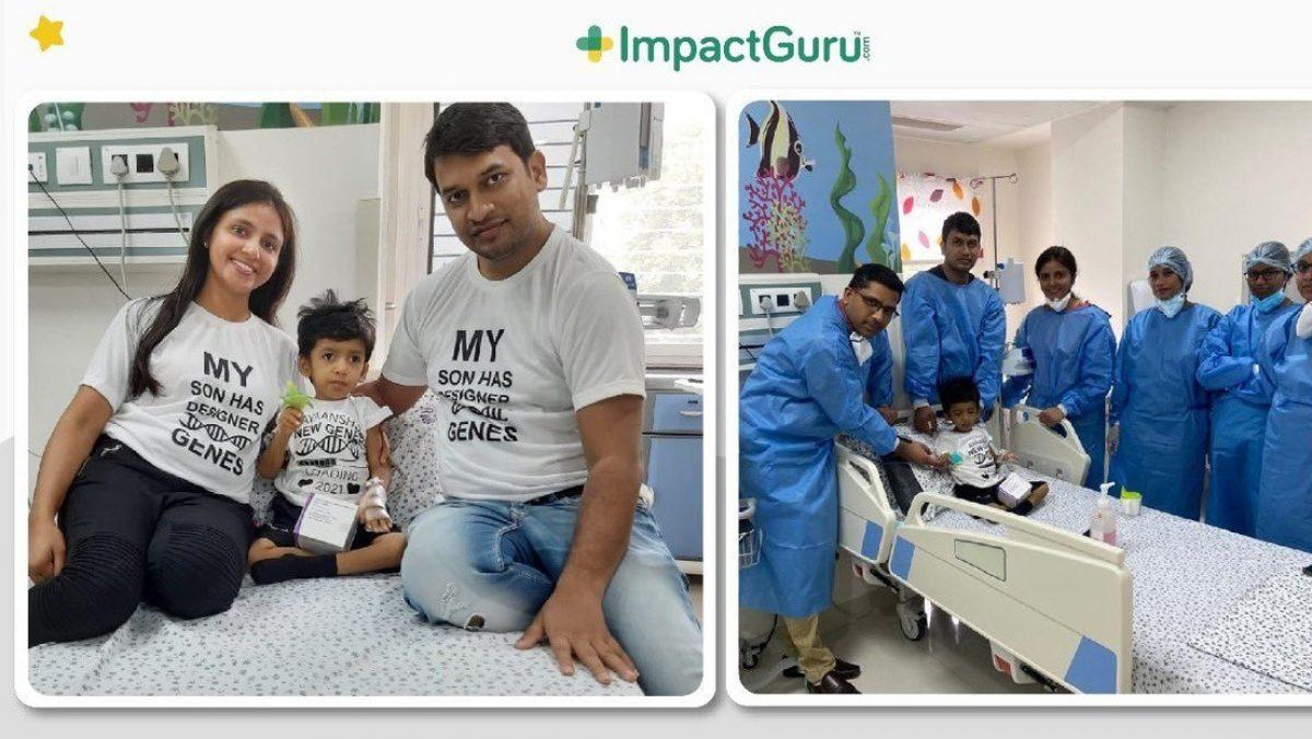 Un niño recibe en la India el fármaco más costoso del mundo tras recaudar sus padres más de $2 millones