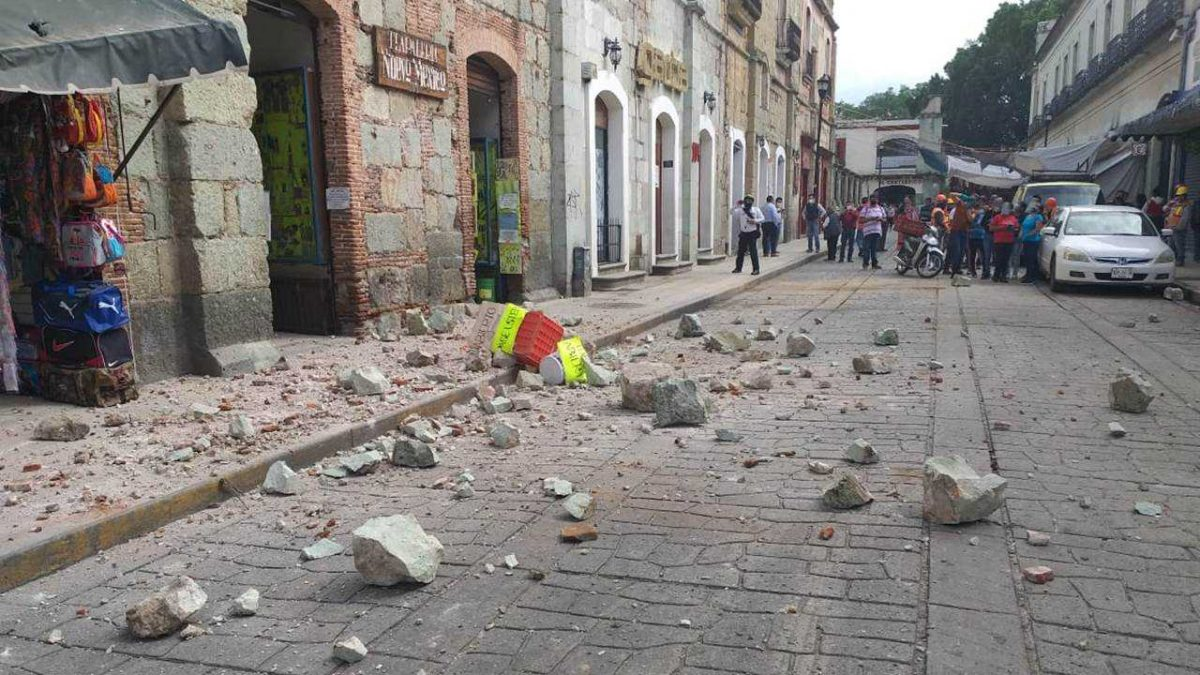Aumenta a cuatro el número de fallecidos tras el sismo de magnitud 7,4 en México