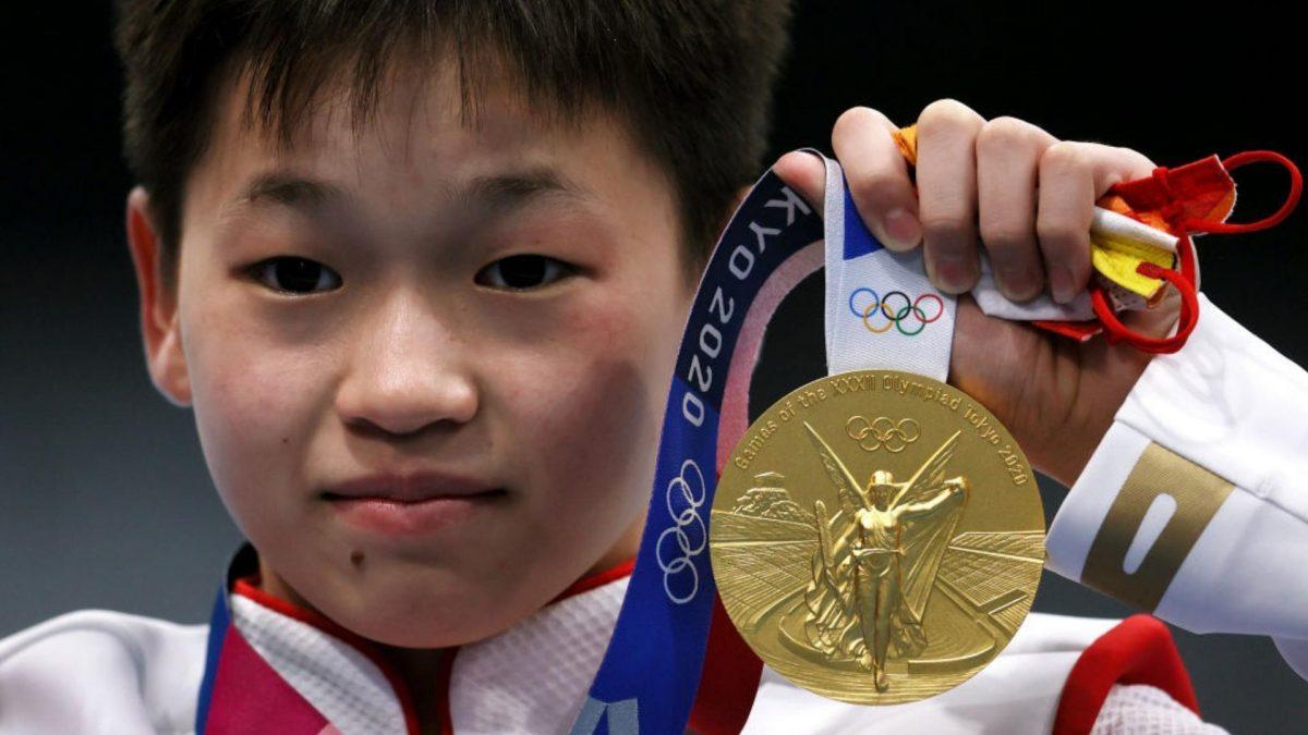 Niña prodigio: con 14 años gana medalla de oro en Tokio