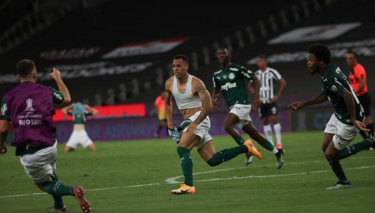 VIDEO | Palmeiras venció 1-0 a Santos y es campeón de la Copa Libertadores 2020