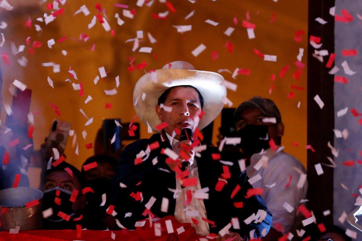 Pedro Castillo jura este miércoles como presidente en el bicentenario de Perú