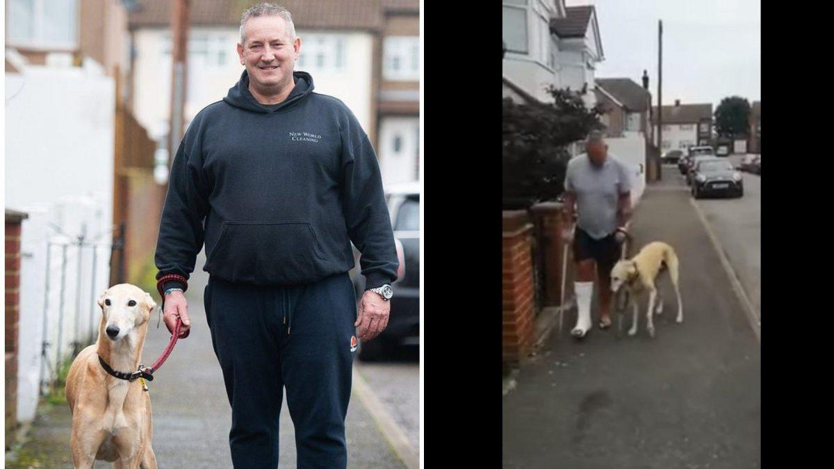 VIDEO | Perro cojeaba como su dueño y él gastó 400 dólares en consultas pensando que estaba enfermo