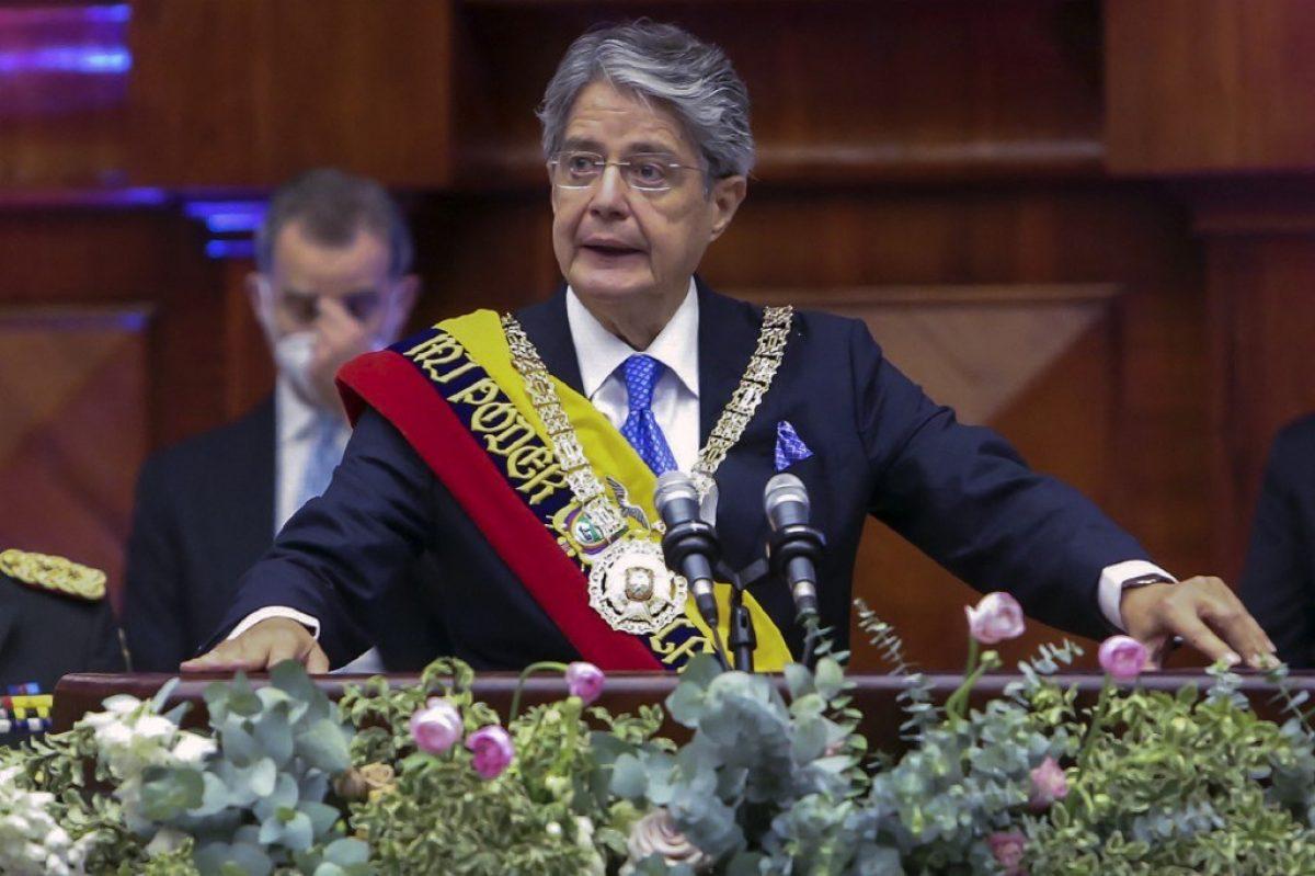 """""""He venido a saciar el hambre de muchos"""": Guillermo Lasso tras su investidura como Presidente"""