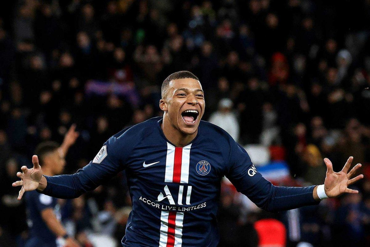 Mbappé anota su gol número 100 como jugador del Paris Saint-Germain