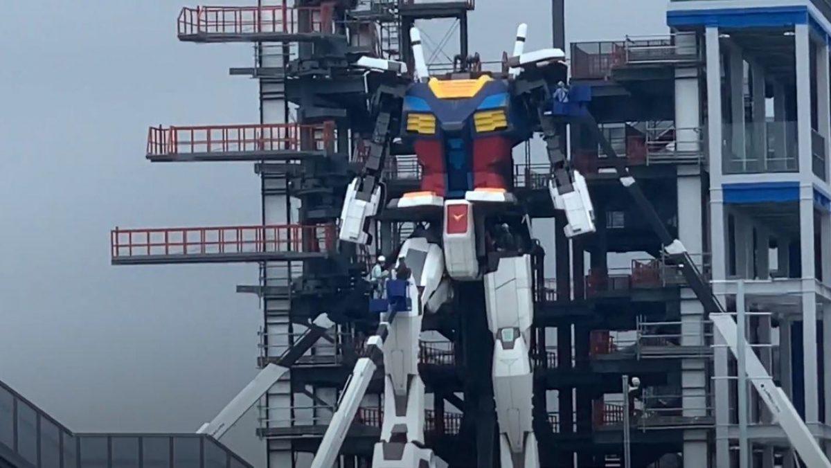 VIDEO | Un robot gigante inspirado en la serie animada Gundam da sus primeros 'pasos'