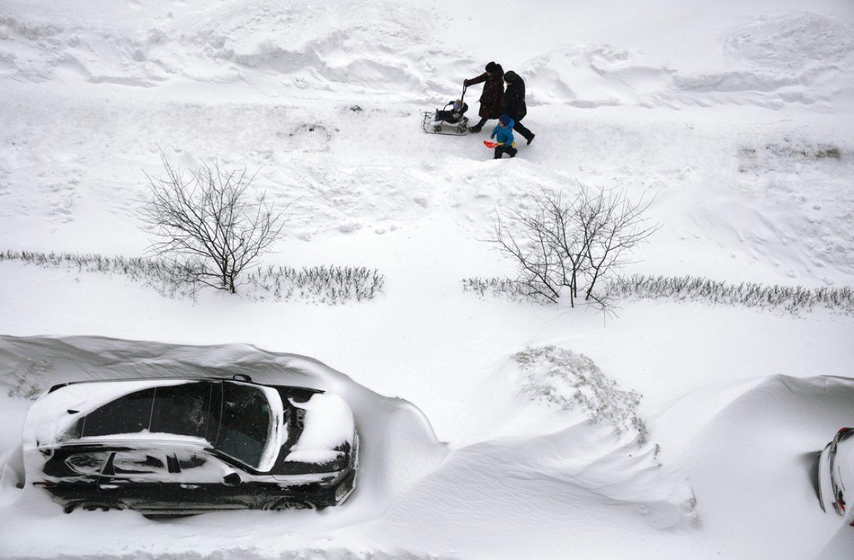 Video impactante: así luce Moscú, una ciudad bajo la nieve