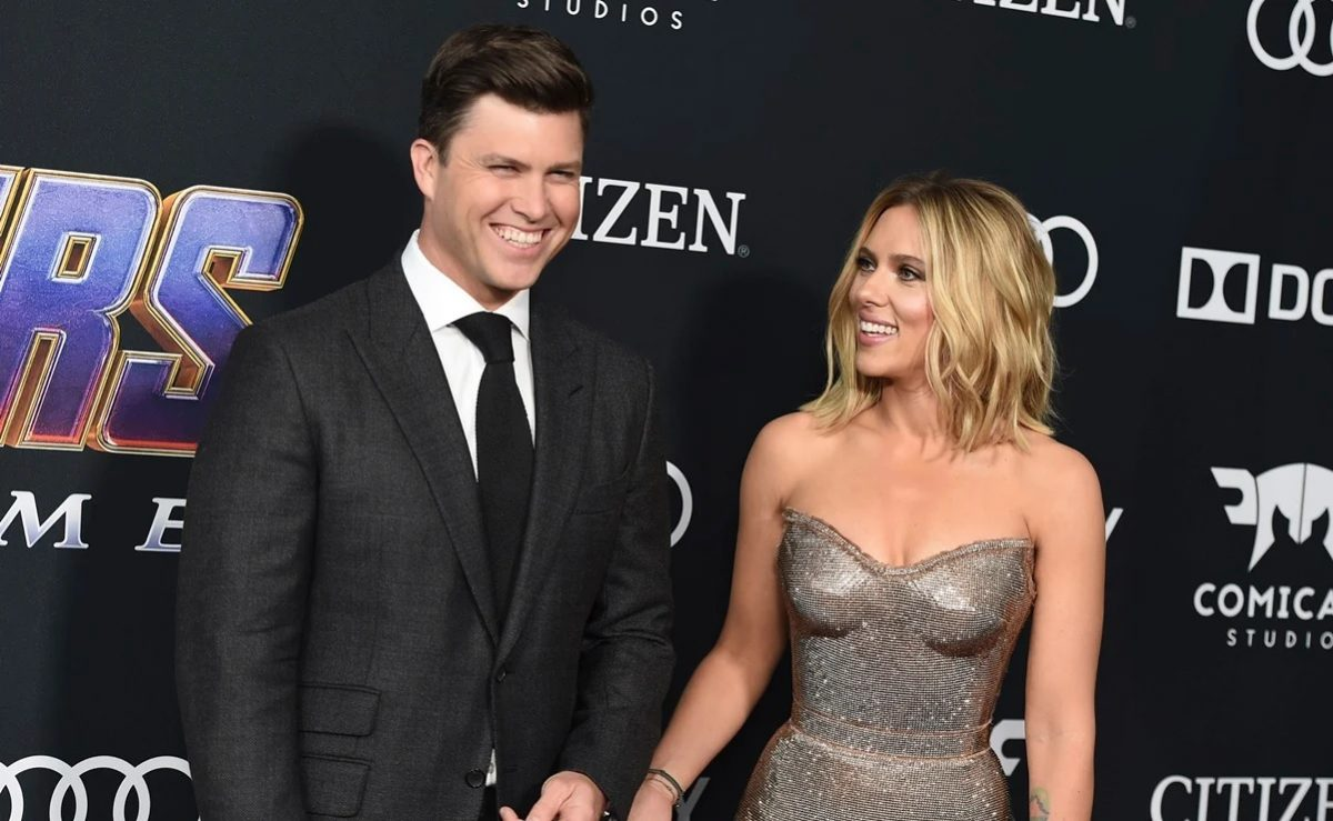 """Scarlett Johansson se casa por tercera vez: dio el """"sí"""" a Colin Jost"""