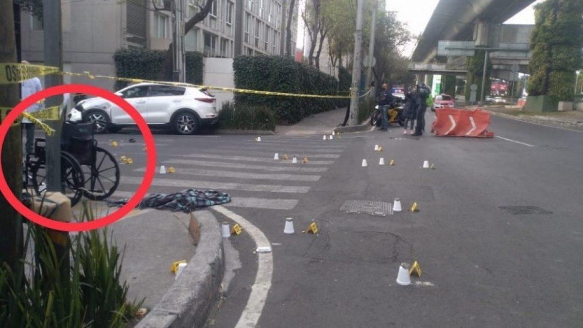 Sicario en silla de ruedas mató a un empresario en México