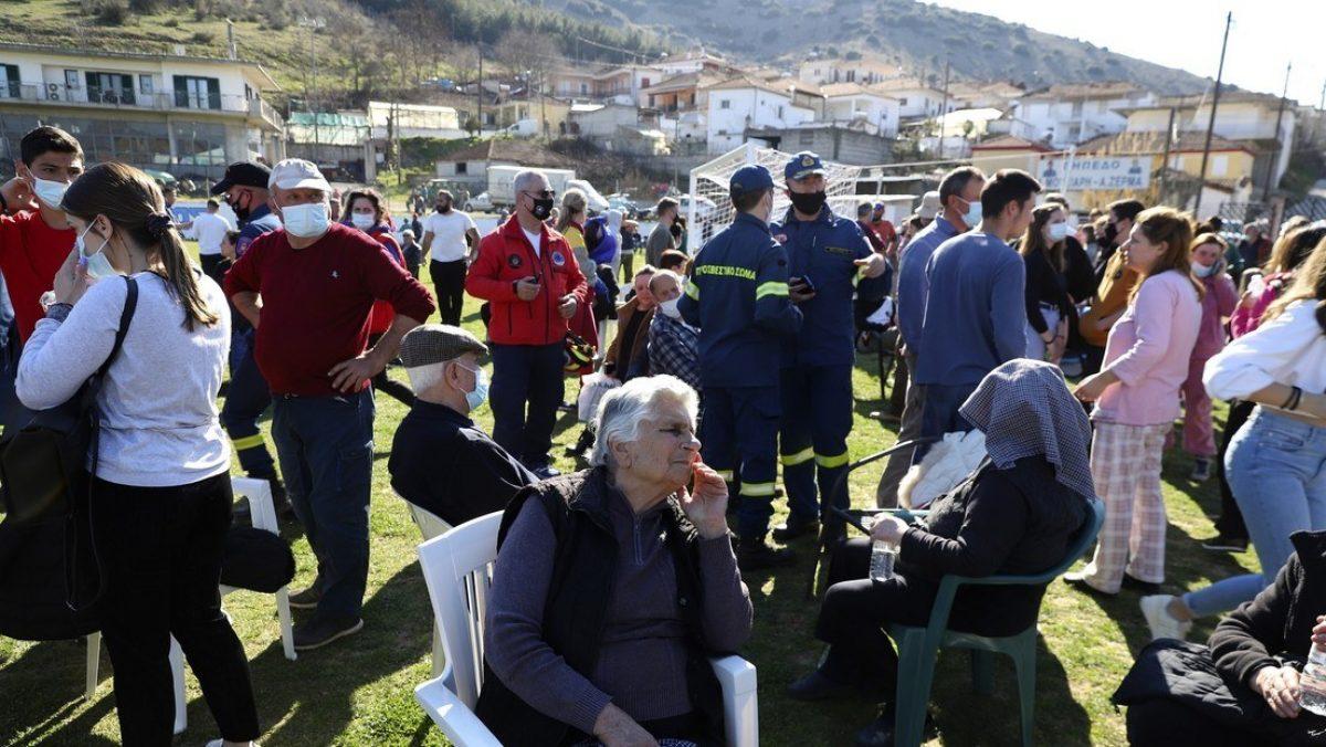 Primeros videos de los efectos del terremoto de magnitud 6,3 que ha sacudido Grecia