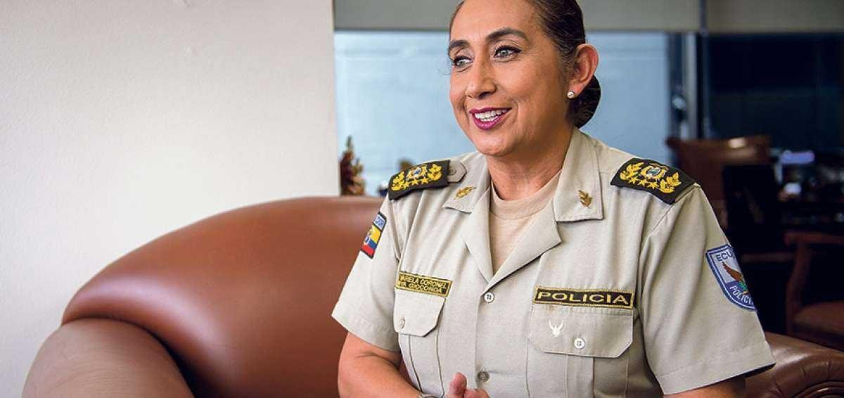 Tannya Varela se convierte en la nueva Comandante General de la Policía Nacional