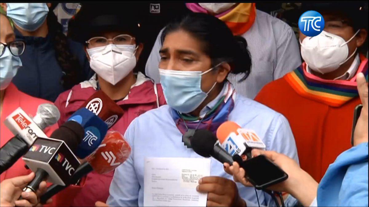 CNE acepta parcialmente pedido del candidato presidencial Yaku Pérez
