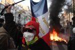 VIDEO |Se registraron manifestaciones contra la fuerza pública en París