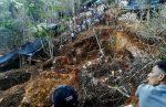 Nicaragua intenta rescatar a mineros artesanales atrapados por derrumbe