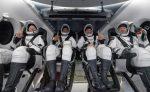 La nave de SpaceX con cuatro astronautas de la ISS regresó a la Tierra