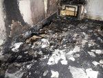 Un hombre preparó la pedida de mano para su novia y quemó su departamento