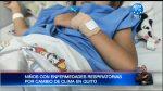Niños con enfermedades respiratorias ante cambio de clima