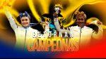 Así fue el arribo de las medallistas olímpicas al Ecuador