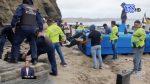 VIDEO: Incautan más de 700 kilos de droga de una lancha en Santa Elena