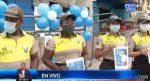 "VIDEO | Policía Nacional realiza campaña ""Cuidamos de ti"" para concienciar a moradores de Guayaquil"