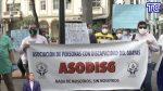 VIDEO | La Asociación de Personas con Discapacidad de Guayas hicieron un plantón por la entrega irregular de carnés