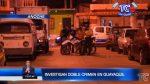 VIDEO: Dos muertes violentas se registraron anoche en Guayaquil
