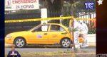 VIDEO | Hombre murió en taxi a pocos metros del centro de salud, presuntamente tenía covid