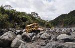 Iniciaron las obras emergentes para contrarrestar efectos de la erosión regresiva en el río Coca