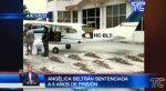 VIDEO:  Sentenciada exfiscal por asociación ilícita en caso de narcoavioneta