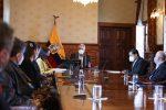 Presidente Lenín Moreno se reunió con miembros de la Asociación de Municipalidades Ecuatorianas