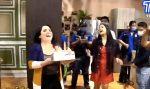 VIDEO | Claudia Camposano celebró sus 39 años en compañía de la familia de TC Televisión