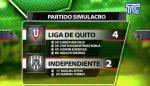 VIDEO |Liga de Quito derrotó a Independiente del Valle en partido simulacro