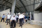 El presidente Moreno recorrió los trabajos de rehabilitación del aeropuerto de Manta