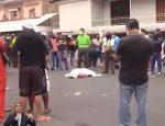VIDEO | Un motociclista sufrió un mortal accidente en Portoviejo, Manabí