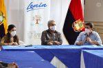 VIDEO | El Gobierno Nacional anunció la entrega de asistencia a los sectores afectados de Chimborazo tras la afectación por la caída de ceniza del volcán Sangay