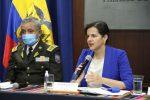 VIDEO |Ministra de Gobierno, María Paula Romo, pide agilizar cambios en la Ley de Movilidad Humana