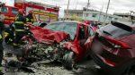 VIDEO | Se registró un grave accidente de tránsito en la av. Panamericana, Quito