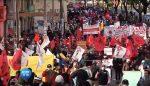 VIDEO |Se registraron violentas manifestaciones en el centro histórico de Quito