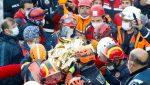 Rescatan a dos niñas que sobrevivieron tres días bajo los escombros tras terremoto en Turquía