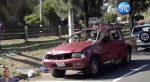 VIDEO | Accidente de tránsito dejó dos personas heridas en Quito
